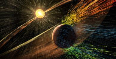 ¿Hay alguna forma de proporcionar un campo magnético a Marte?